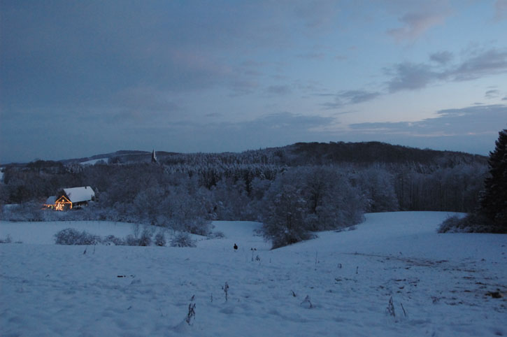 Winter in Bergkirchen