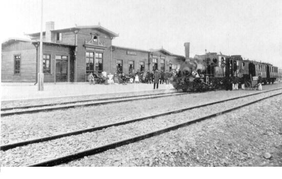 Bahnhof Blomberg