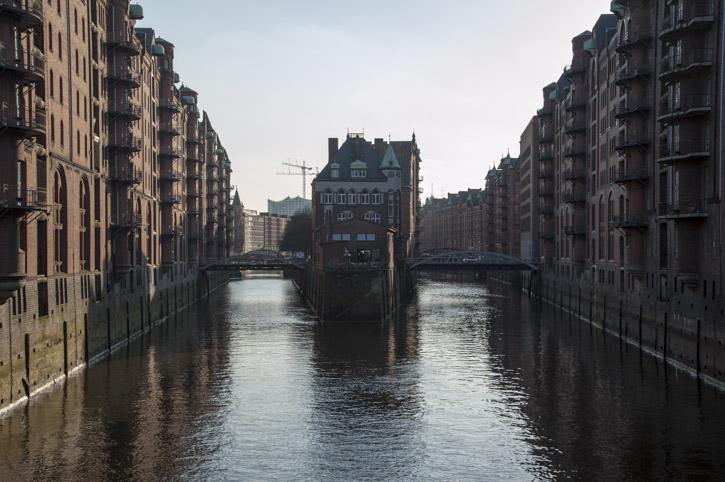 Impressionen einer Hafenstadt: Hamburg im April