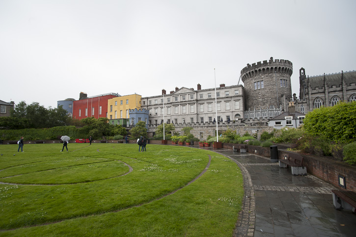 Dublin Castle und Christchurch cathedral