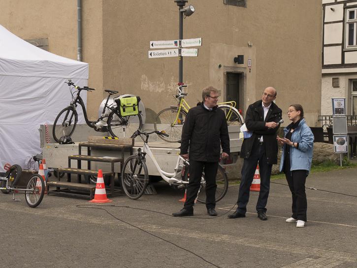 Stadtradeln in Detmold – Auftakt