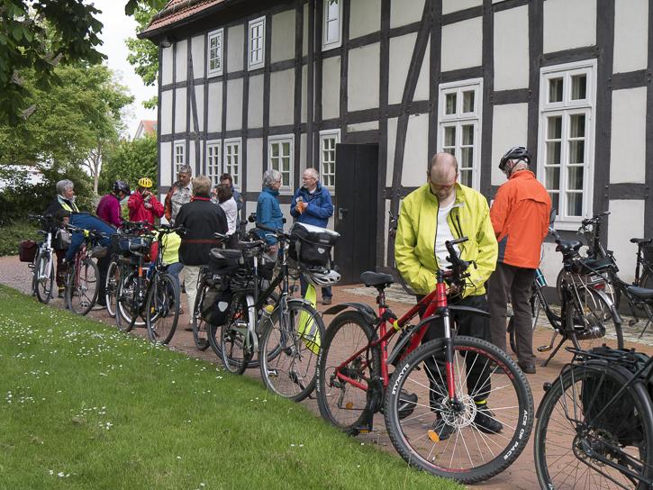 Radtour Lippische Landeskirche und ADFC Lippe zum Stadtradeln in Detmold 2015