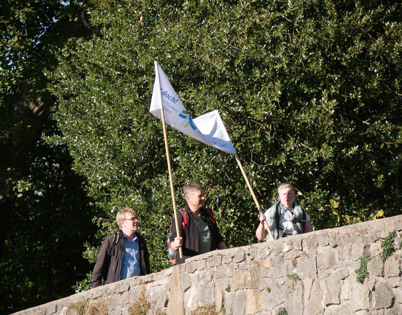 Geht doch! – Klimapilgern – Etappe Steinheim – Bad Pyrmont am 29.09.2018